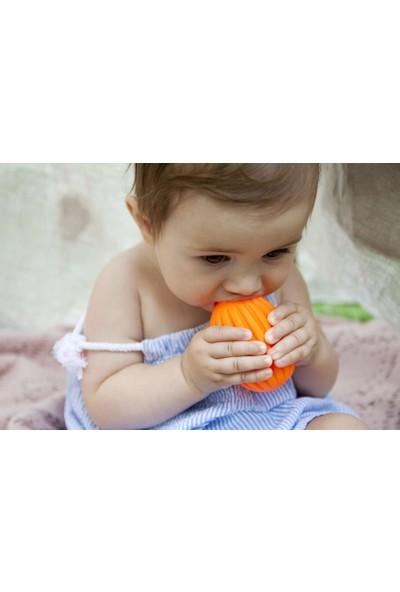 Poema & Rosa Sensory Duyusal Plastik Bebek Topu 3 Adet