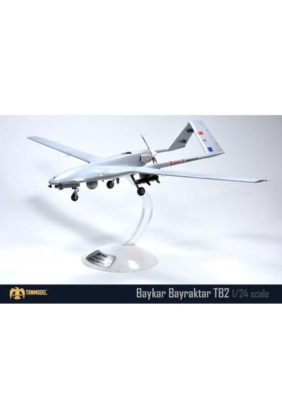 Tanmodel 1:24 Baykar Bayraktar TB2 İHA Uçak Maketi 2906