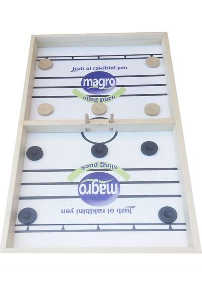 Magro Hızlı Sapan Oyunu Masif Ladin Su Bazlı Vernik