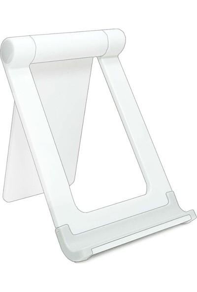 Wlue 360 Derece Ayarlanabilir Plastik Tablet ve Telefon Tutucu Stand