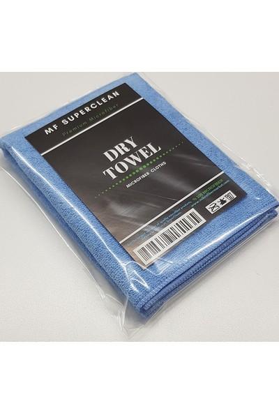 Superclean Mikrofiber Luks Oto Kurulama Bezi 340 Gsm 50X70 cm