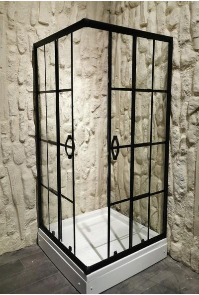 Mona Stone Kare Özel Black Seri 80 x 80 cm H: 180