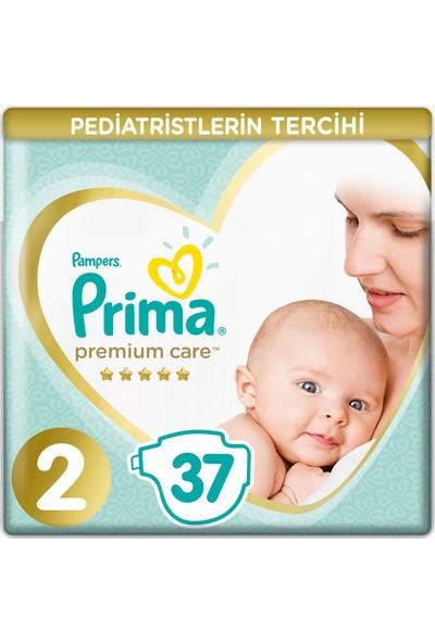 Prima Bebek Bezi Premium Care 2 Beden 37 Adet Mini Ekonomi Paketi