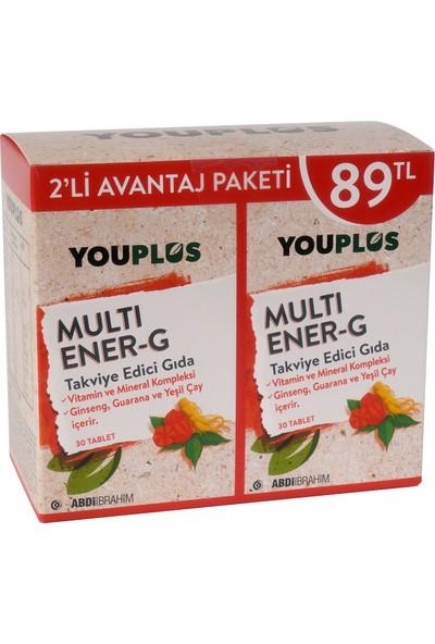 Youplus Multi Ener-G Multivitamin 2 x 30 Tablet