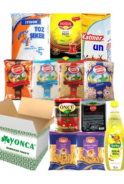 Ramazan Erzak Yardım Paketi Kolisi 12 Parça No:7