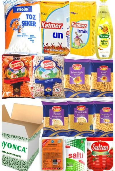 Ramazan Erzak Yardım Paketi Kolisi 14 Parça No:10