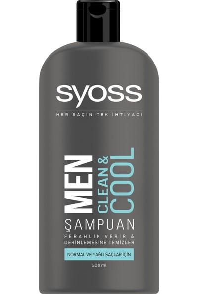 Syoss Men Clean & Cool Şampuan 500 ml