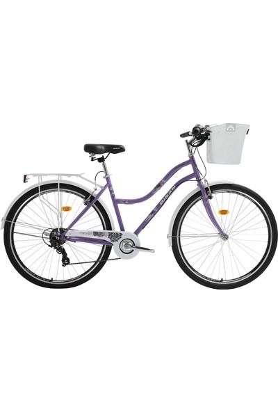 Bisan Cts 5300 Şehir Bisikleti 28 Jant Lila