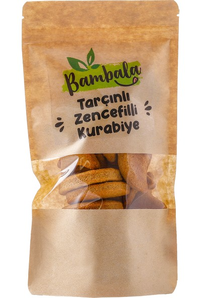Bambala Zencefilli- Tarçınlı Kurabiye 125 gr