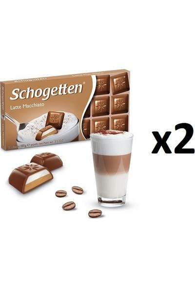 Schogetten Latte Macchiato 100 gr x 2'li