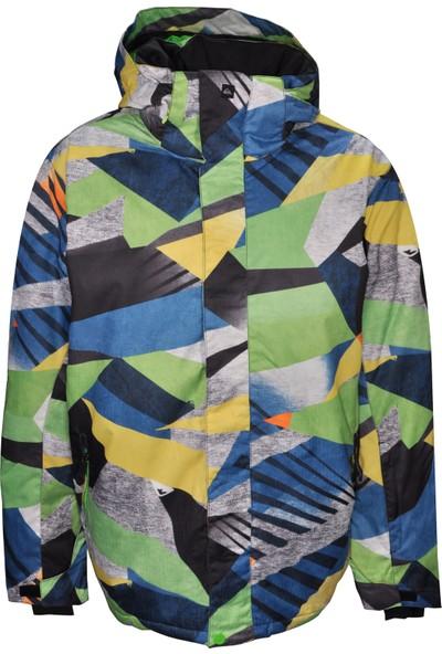 Quiksilver Erkek Kayak Mont U001150 - Çok Renkli