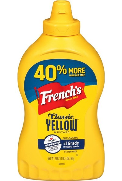 French's Classic Yellow Hardal 567 gr