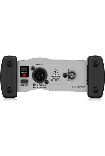 Behringer DI100 Tek Kanal Phantom Dı-Box