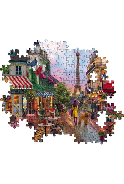 Clementoni - 1000 Parça High Quality Yetişkin Puzzle - Flower in Paris