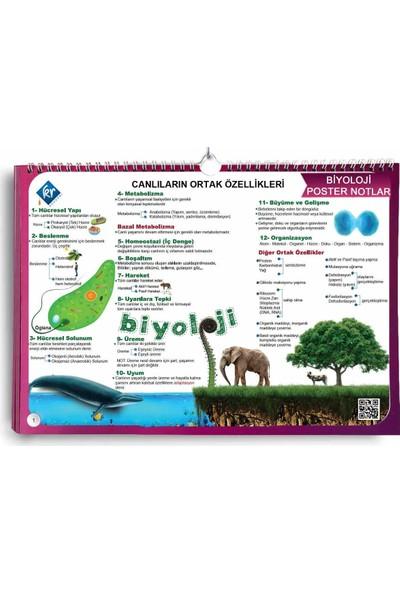 TYT Biyoloji Poster Notlar KR Akademi