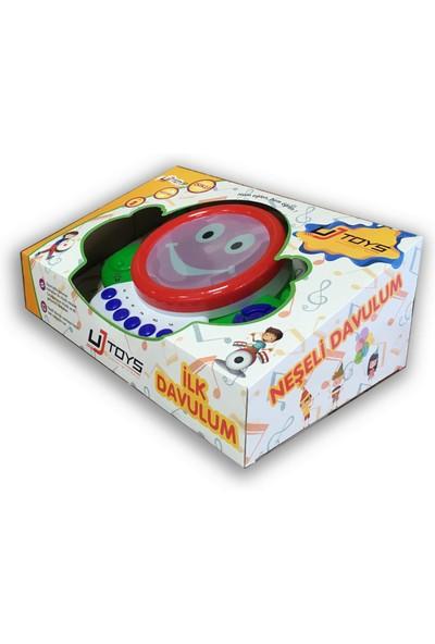 UJ Toys Işıklı Müzikli Notalı Neşeli Pilli Davul