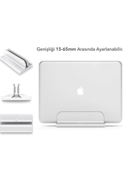 iDock N17 Dikey Genişliği Ayarlı Laptop Macbook Bilgisayar Standı – Gümüş