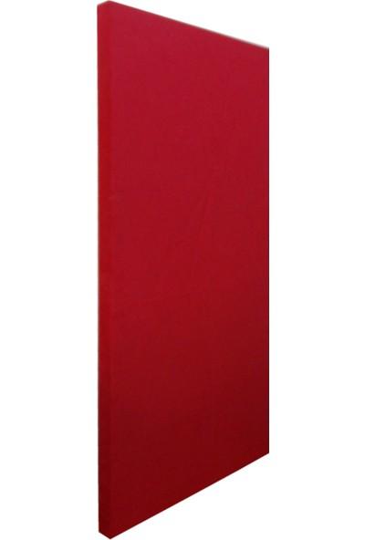 Center Acoustic Kumaş Kaplı Akustik Sünger Panel Kırmızı 4 x 60 x 120 cm