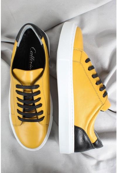 Cz London Erkek Sneakers Spor Ayakkabı Beyaz Taban