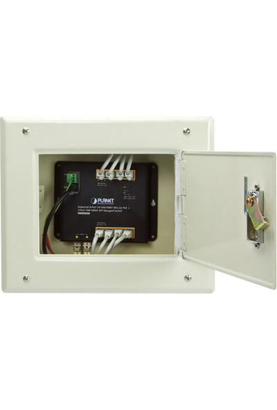 Planet 8x Gigabite 2X1000X Sfp L2/l4 Endüstriyel Duvar Tipi Yönetilebilir Switch