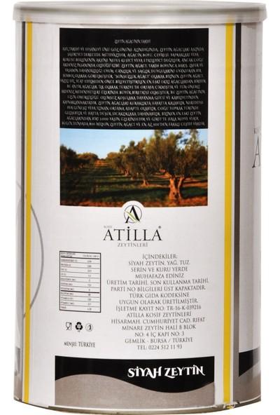 Atilla Zeytinleri 351 - 380 Kalibre Süper Ekstra Siyah Zeytin 800 gr