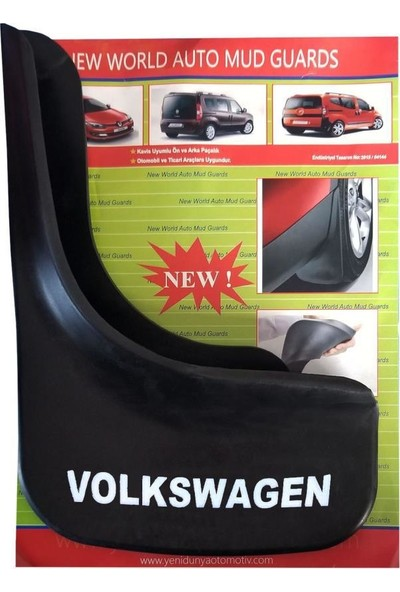 Yeni Dünya Volkswagen Touran 4'lü Paçalık Çamurluk Tozluk VW1UX023