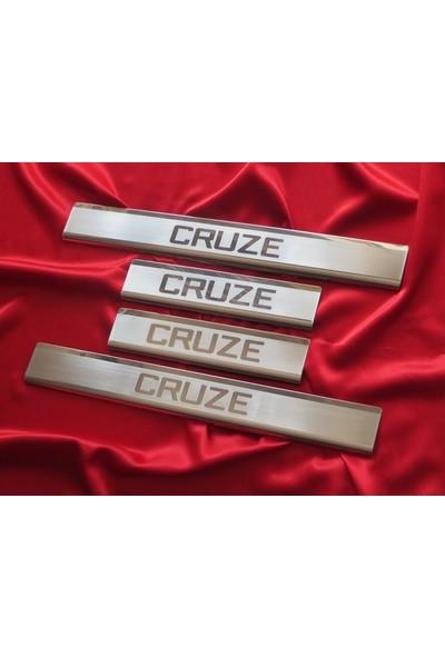 Başkent Oto Chevrolet Cruze Sedan Krom Kapı Eşiği 4 Parça 2009 Üzeri