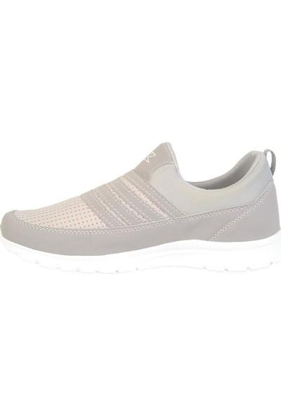 Jack Lion 858 Gri Bağsız Yazlık Erkek Spor Ayakkabı Sneaker