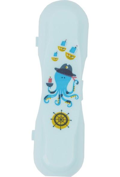MYCey Çatal –Kaşık Taşıma kutusu Mavi