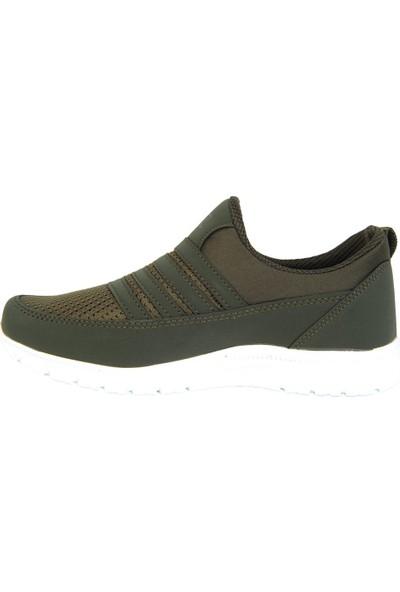 Jack Lion 858 Haki Bağsız Yazlık Kadın Unisex Spor Ayakkabı