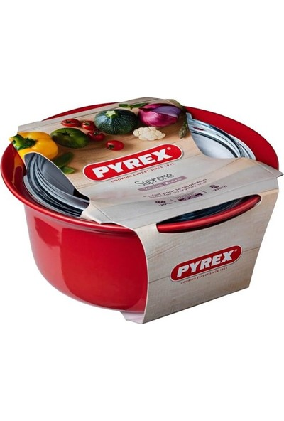 Pyrex SU26AC5/7142 Casserole 2.5l Kırmızı 2,5 lt