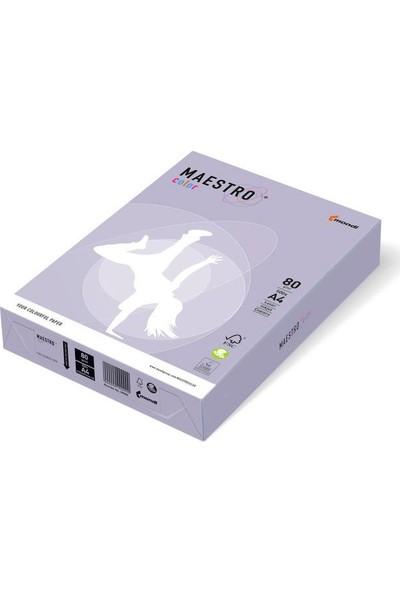 Maestro LA12 A4 Renkli Fotokopi Kağıdı Mor 80 gr Paket 5'li