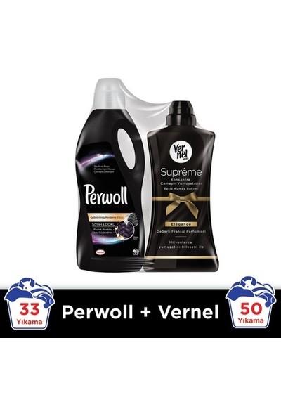 Perwoll 33 Wl Siyah + Vernel Supreme Elegance 2'li Set