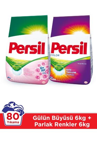 Persil Toz 6 kg Gül + Color 2'li Set