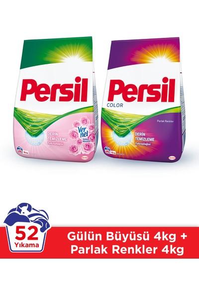 Persil Toz 4 kg Gül + Color 2'li Set