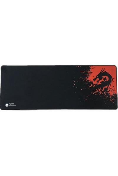 Appa Rakoon 80 x 40 cm Kaymaz Dikişli Oyuncu Mouse Pad
