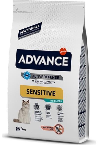 Advance Cat Sterilized Somonlu Kısırlaştırılmış Kedi Maması 3Kg