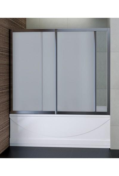 Sırduş Mini Düz Oturmalı Küvet 180 x 80 x 44 Ön ve Yan Panel Sırduş Duşakabinsiz