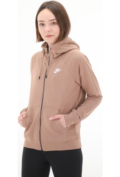 Nike Bv4122 W Nsw Essntl Hoodie Fz Flc Kadın Kapşönlü Üst