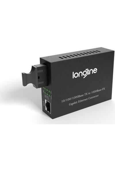 Longline 10/100/1000M 1310/1550NM Wdm Bidi 20KM Sc Media Converter