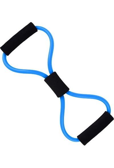 Voiva Egzersiz Pilates Direnç Lastiği - Mavi