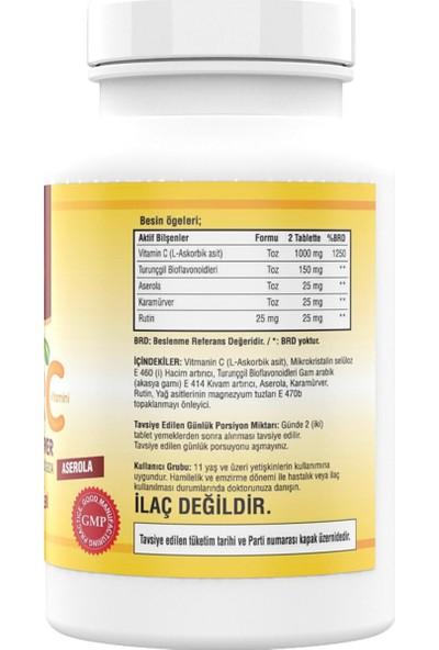 Ncs Ester C Vitamini Kara Mürver 180 Tablet