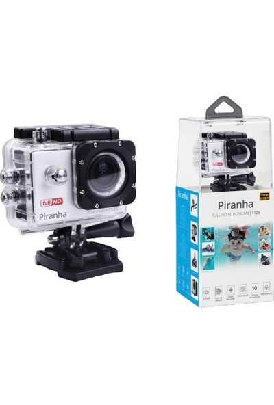 Piranha Aksiyon Kamera 1125 Action Cam Hd 1080 Full Hd 12MP