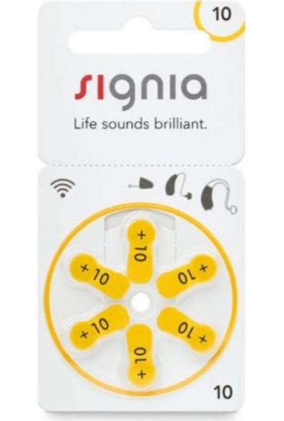 Signia 10 Numara Işitme Cihazı Pili