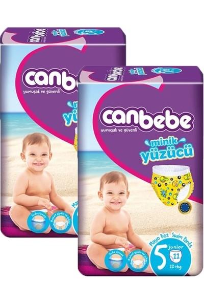 Canbebe Mayo Bebek Bezi Junior 5 Beden 11'li 12+ kg x 2'li