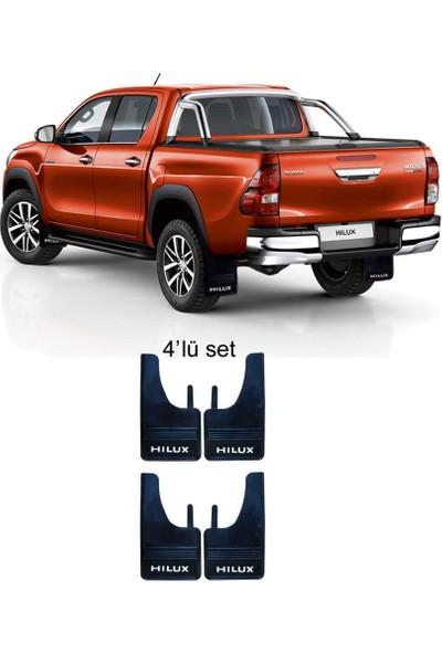 Yeni Dünya Toyota Hilux 4'lü Paçalık Çamurluk Tozluk TYT1PX015