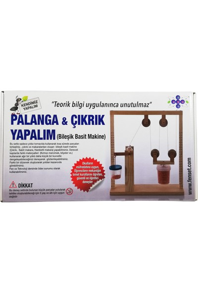 Fenset Basit Makine Palanga-Çıkrık Yapalım