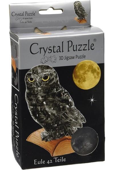 Crystal Puzzle Siyah Baykuş Standart Boy