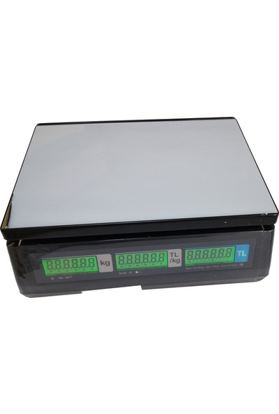 Cas Er Jr LCD Hesaplamalı Terazi Düz Kefe 30 kg