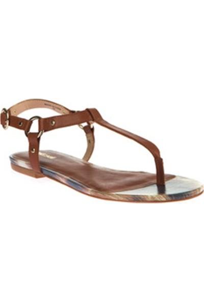Just Cavalli Kadın Sandalet Kahverengi S13WP0093